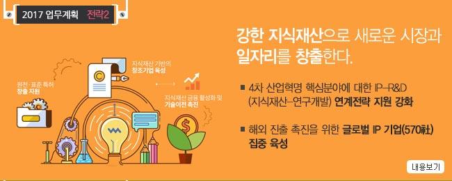 [주요내용] 지식재산으로 새로운 시장 및 일자리 창출