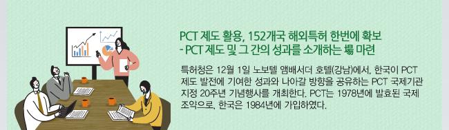 PCT 국제기관 지정 20주년 기념행사 개최
