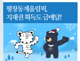 평창동계올림픽 지재권 획득도 금메달!